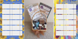 Gift Baskets with Calendars