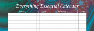 Everything Essential Birthday Calendars - Fun Fractal